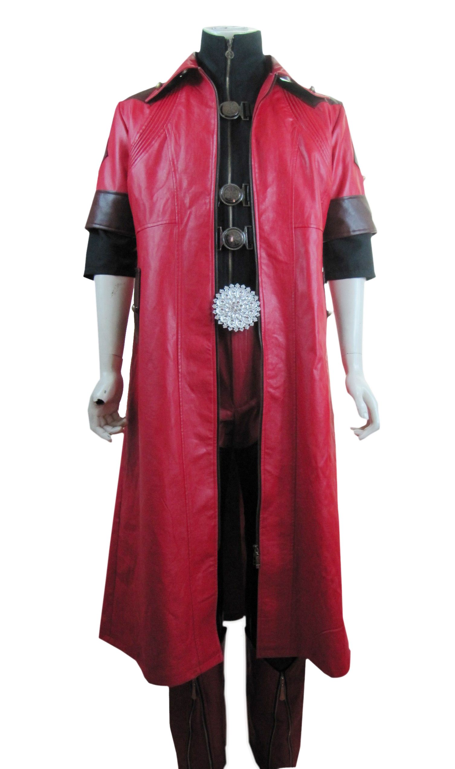 Devil May Cry IV 4 Dante Cosplay Costume