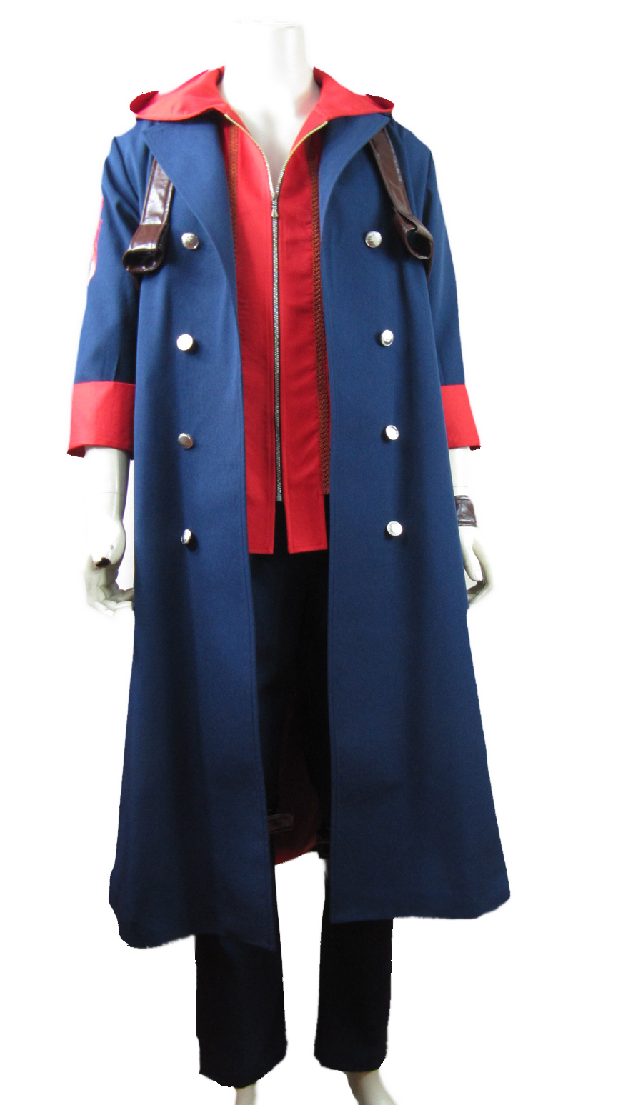 Devil May Cry IV 4 Nero Cosplay Costume