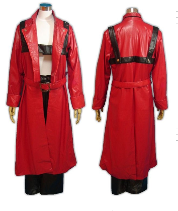 Devil May Cry3 Dante Fighting Uniform Cosplay Costume
