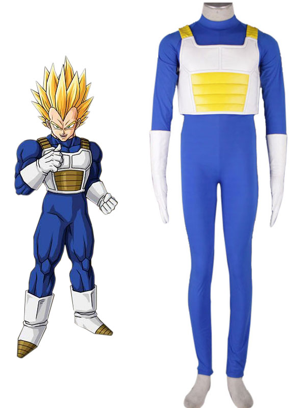 Dragonball Kai Vegeta Cosplay Costume