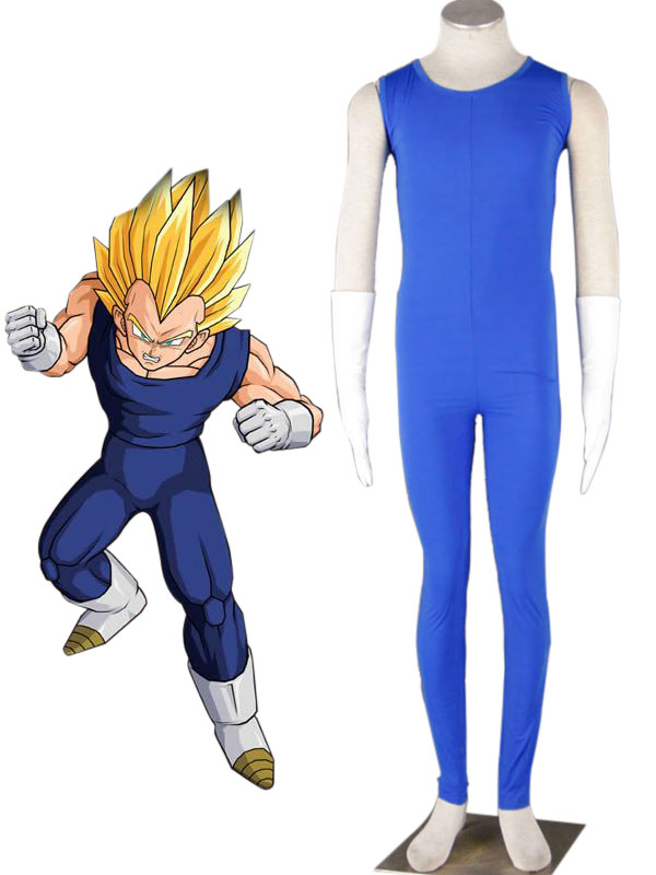 Dragonball Kai Vegeta Saiyan Battle Uniform Cosplay Costume