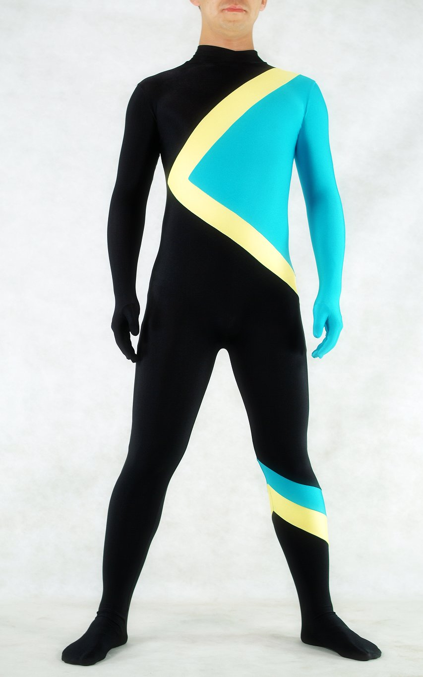 Fashion Unitard Spandex Catsuit For Men