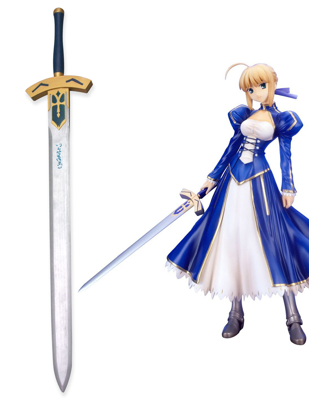 Fate stay night Saber  Excalibur Cosplay Sword Wooden Weapons