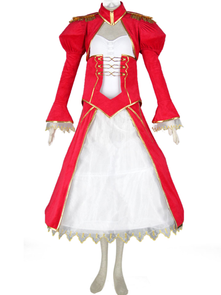 Fate stay night-Red Saber  Swordsman dress