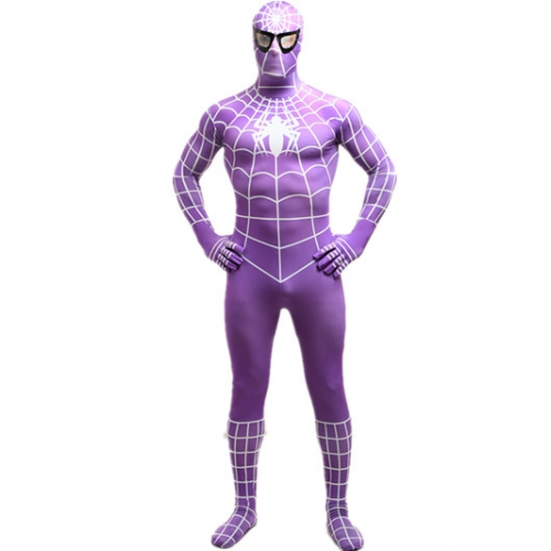 Full Bodysuit Zentai Spiderman Costume