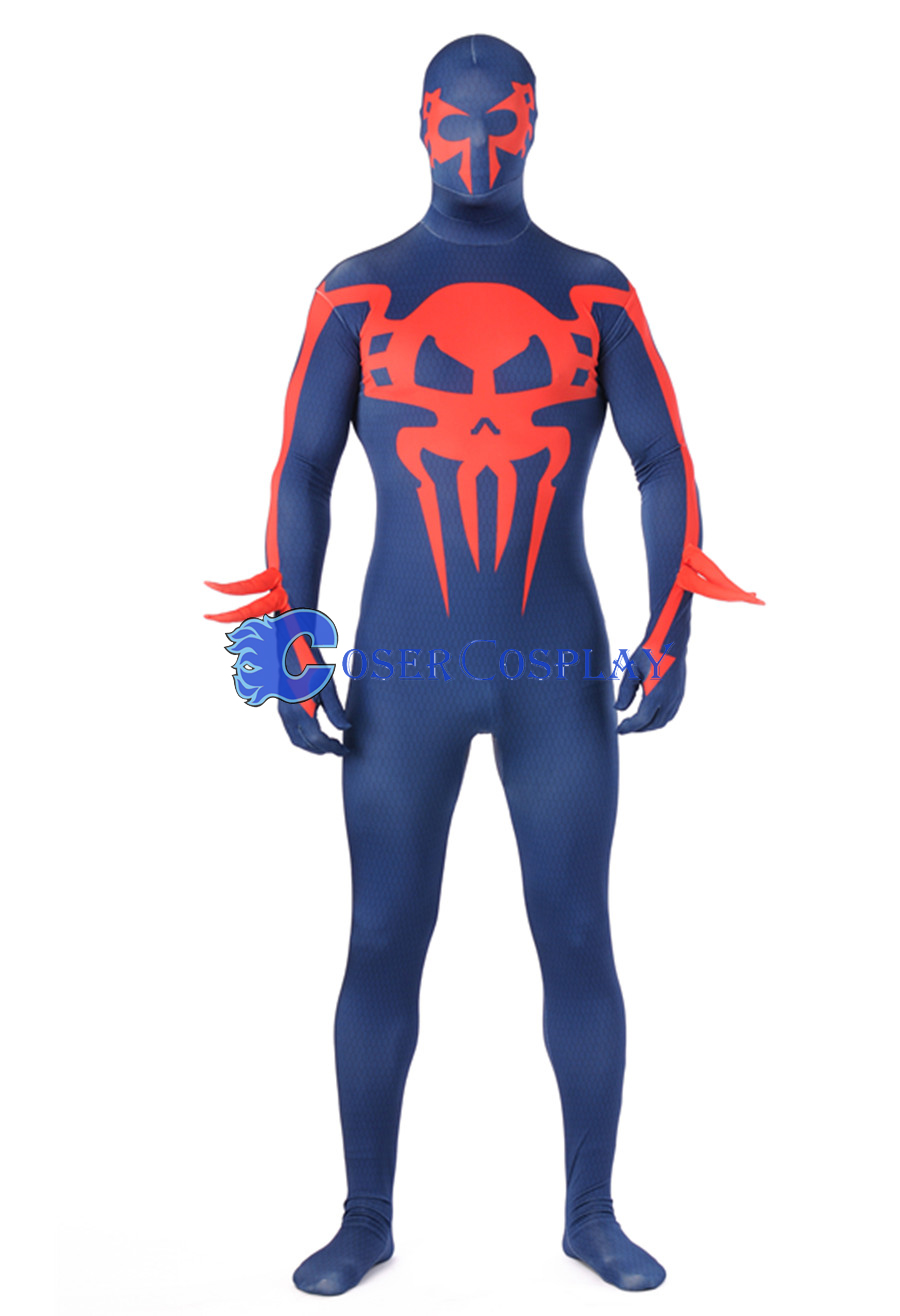 Funny Halloween Costumes Spiderman Skeleton