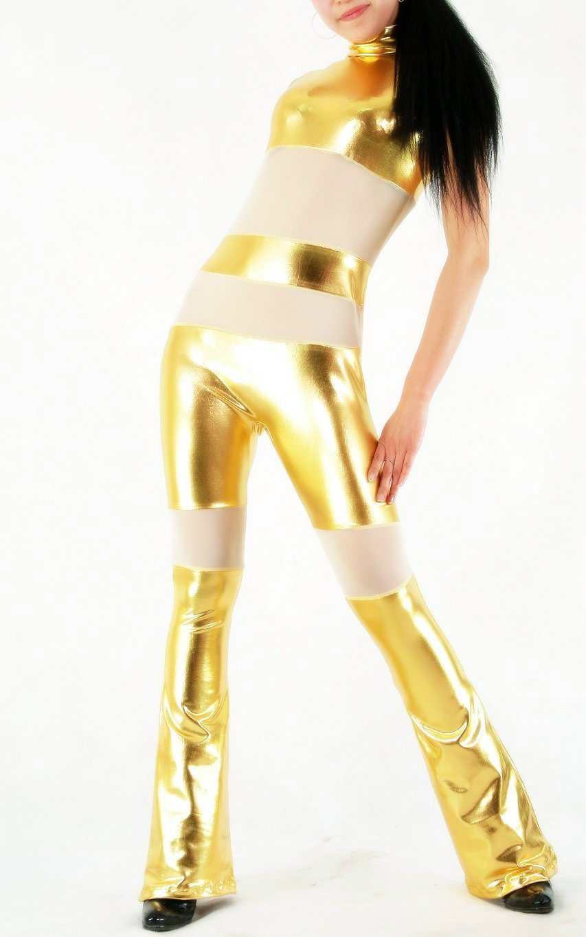 Gold Suit Sexy Halloween Costumes For Women