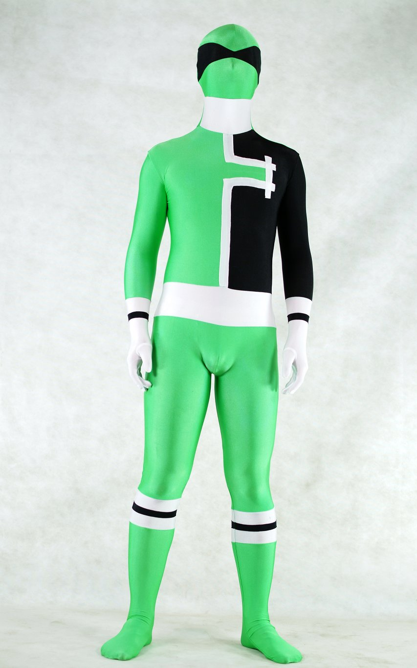 Green Man Halloween Costume Ideas Zentai