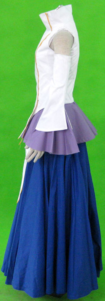 Gundam Seed Destiny Lacus Clyne Singing Uniform Cosplay Costume