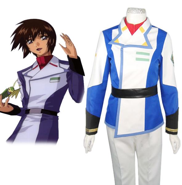 Gundam Seed Kira Yamato Orb Union Male Uniform Cosplay Costume