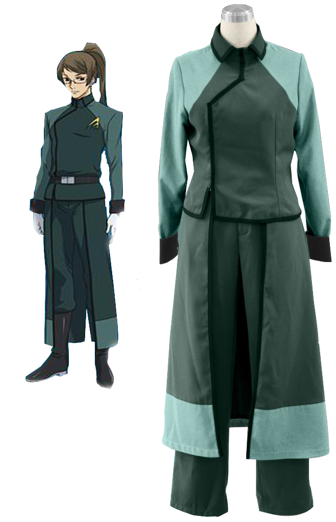 Gundam00 A Laws Female Uniform Cosplay Costume