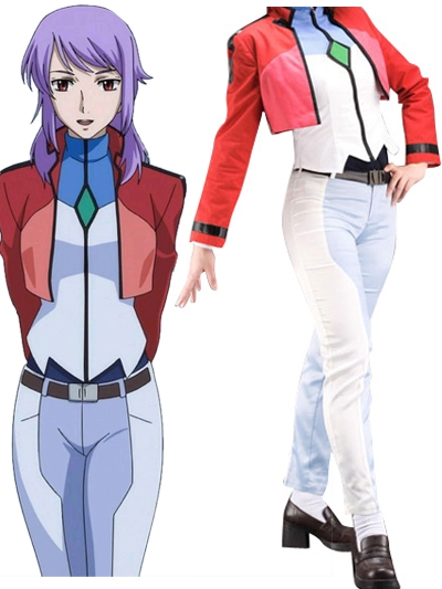Gundam00 Celestial Being Anew Returner Gundam Meisters Uniform Cosplay Costume