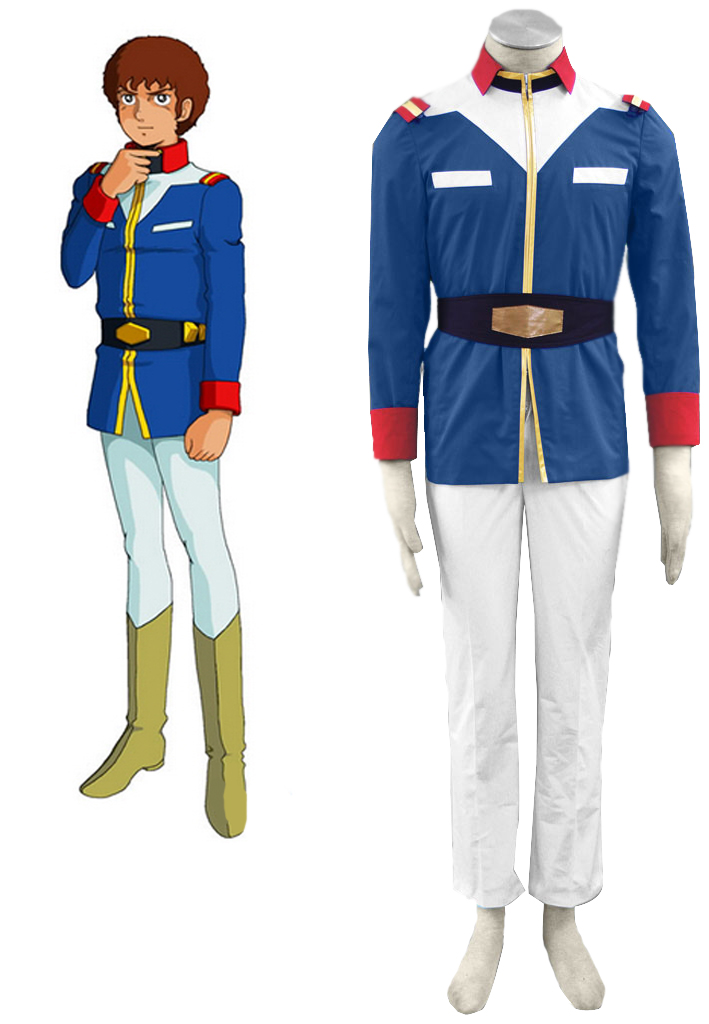 Gundam0079 Union Soldiers Uniform Cosplay Costume