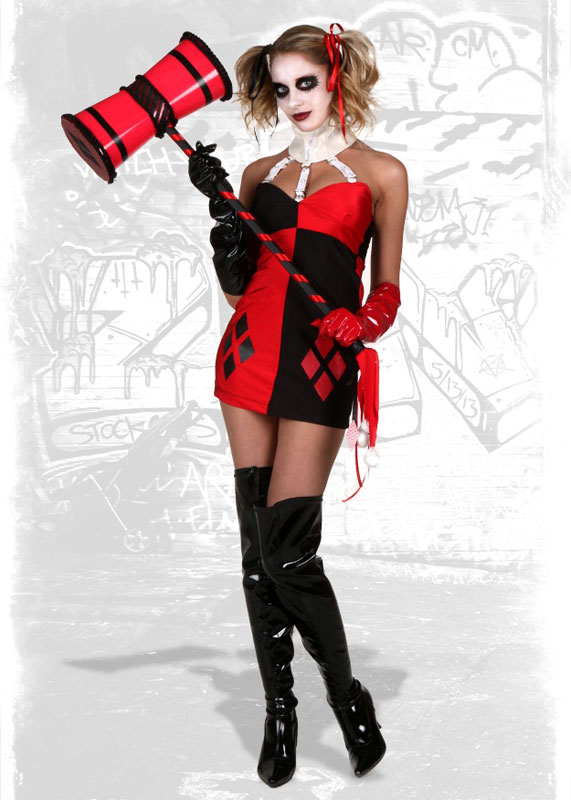 Harley Quinn Cosplay Costume For Halloween 15112070