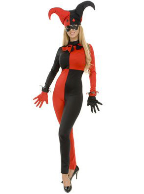 Harley Quinn Cosplay Costume For Halloween 15112071
