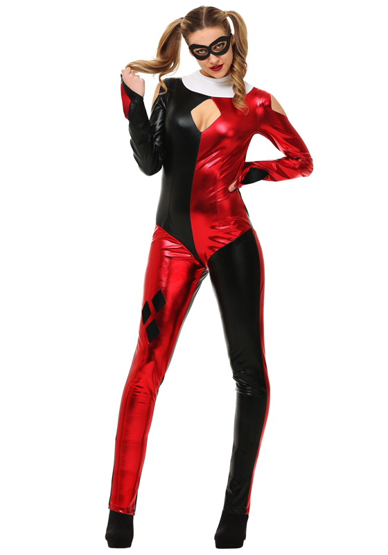 Harley Quinn Cosplay Costume For Halloween 15112093 | cosercosplay.com