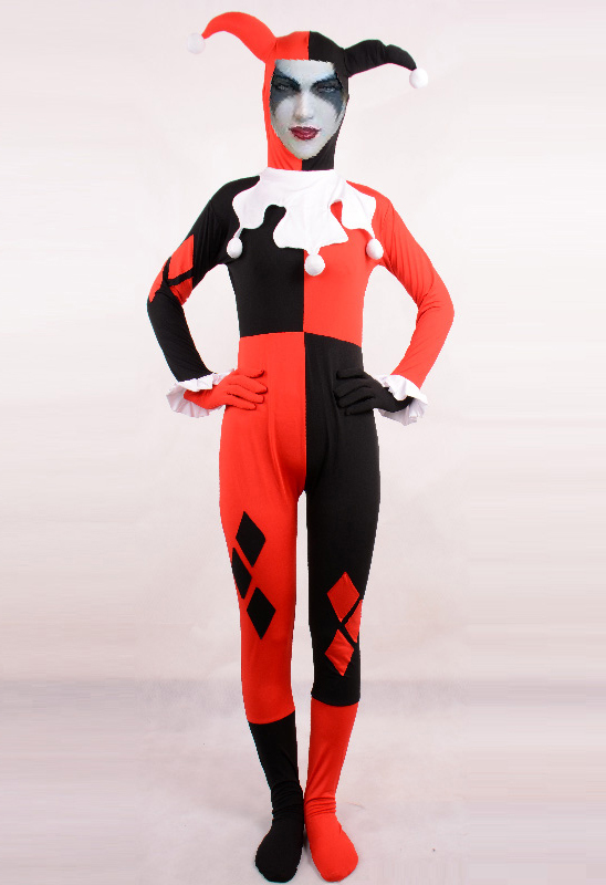 Harley Quinn Cosplay Costume For Halloween 15112124