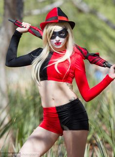 Harley Quinn Cosplay Costume For Halloween 15112126