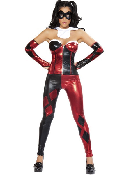 Harley Quinn Sexy Halloween Costumes For Women 15112080 ...