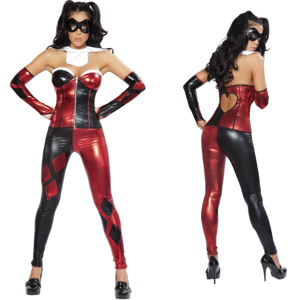 Harley Quinn Sexy Halloween Costumes For Women 15112080