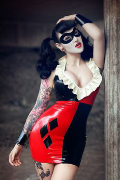 Harley Quinn Sexy Halloween Costumes For Women 15112119