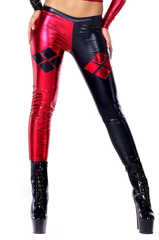 2910a8256c657 Harley Quinn Sexy Spandex Leggings 15112108 | cosercosplay.com