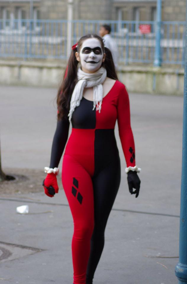 harley quinn halloween costume zentai suits. Black Bedroom Furniture Sets. Home Design Ideas