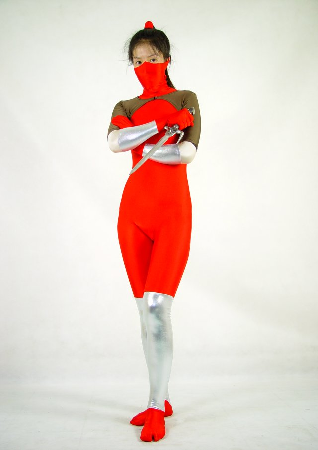 Heroic Woman Catsuit Halloween Costumes
