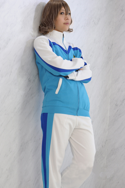 Inazuma Eleven GO 3 Galaxy Raimon Soccer team Winter School Uniform Cosplay Costume