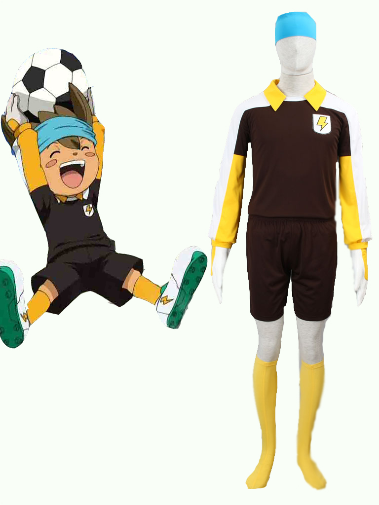 Inazuma Eleven GO Shinsuke Nishizono Raimon soccer team Goalkeeper Uniform Cosplay Costume