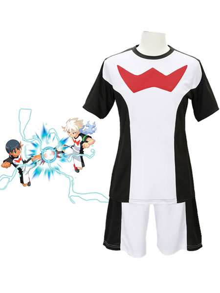 Inazuma Eleven GO: The Ultimate Bond Griffon Team Zero Summer Uniform Cosplay Costume