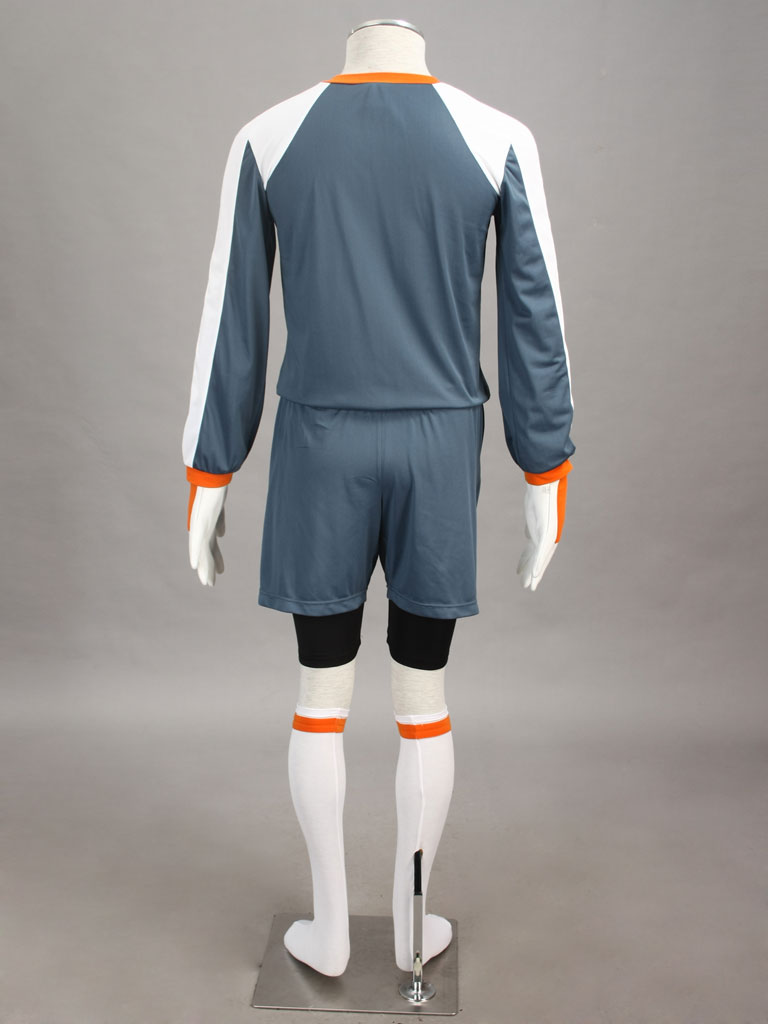 Inazuma Eleven Yūki Tachimukai Raimon soccer team Goalkeeper Uniform Cosplay Costume