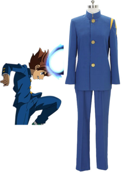Inazuma.Eleven.Go Raimon High School Winter School Uniform Cosplay Costume