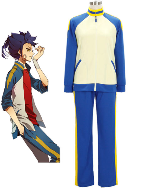 Inazuma.Eleven.Go Raimon Soccer team Winter Uniform Cosplay Costume