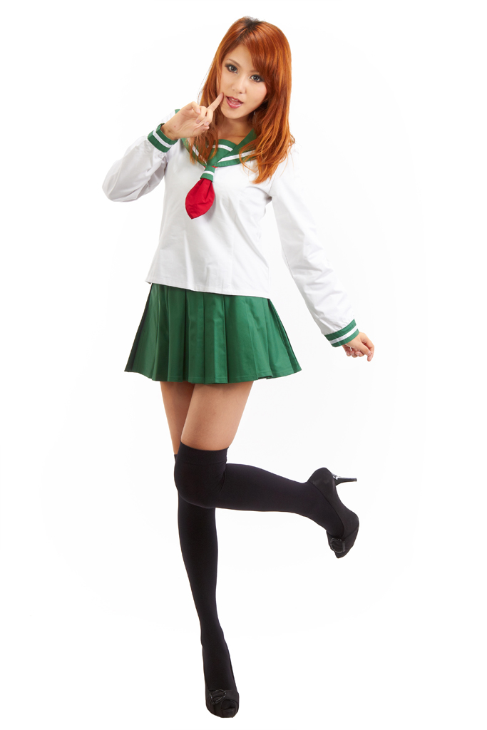 InuYasha Higurashi Kagome Winter School Uniform Cosplay Costume