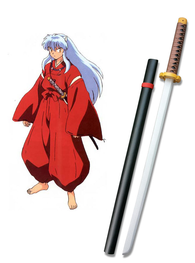 InuYasha Tetsusaiga Sword Cosplay Wooden Weapons