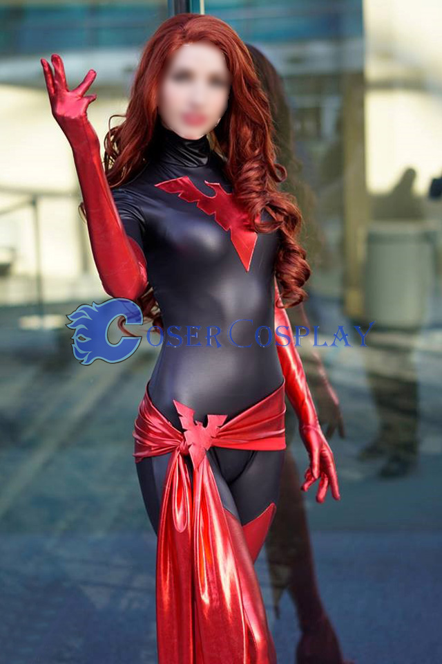 Jean Grey X Men Dark Phoenix Cosplay Costume