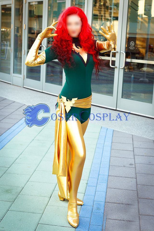Jean Grey X Men Phoenix Halloween Costume Ideas