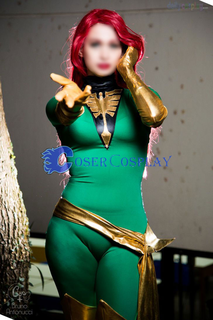 Jean Grey X Men Phoenix Sexy Halloween Costumes