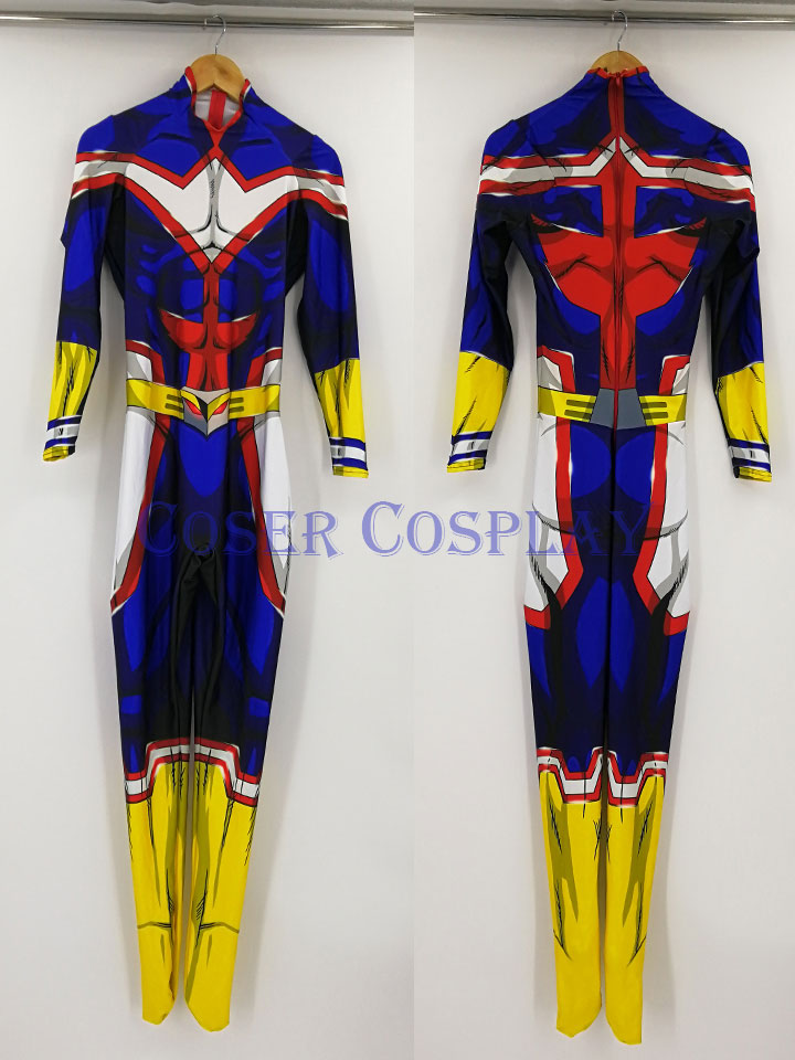 Kid My Hero Academia All Might Cosplay Costume Men 0806