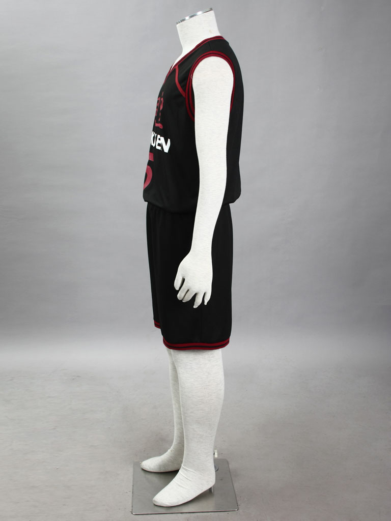 Kuroko's Basketball Daiki Aomine Tōō High School Basketball Team Uniform Black Number 5 Cosplay Costume