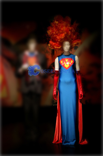 M Superwoman Dress Halloween Costumes