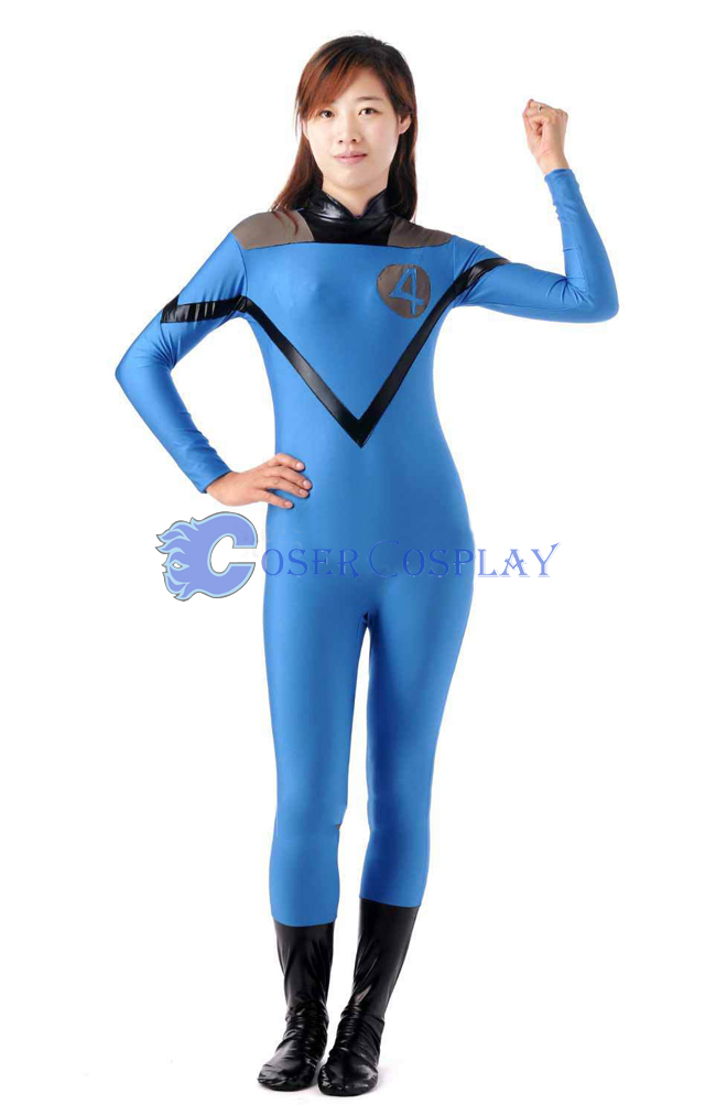 Marvel Sue Storm Blue Halloween Costume