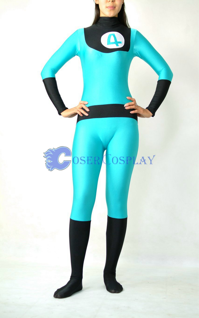 Marvel Sue Storm Catsuit Cosplay Costume