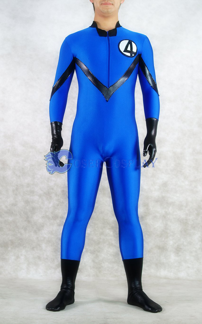 Marvel Sue Storm Spandex Cosplay Costume