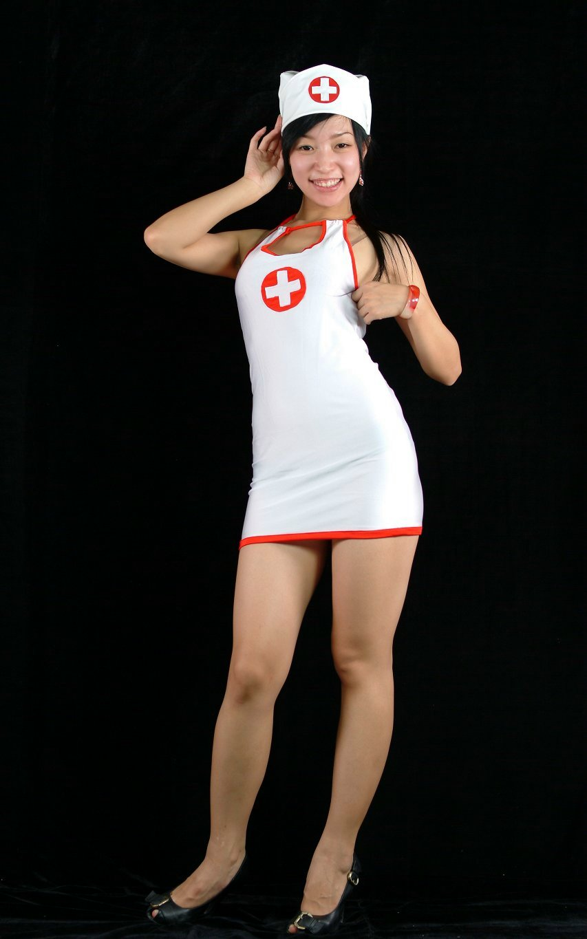 Mini-skirt Nurse Sexy Halloween Costume