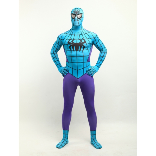 Morph Zentai Suits Spiderman Costume