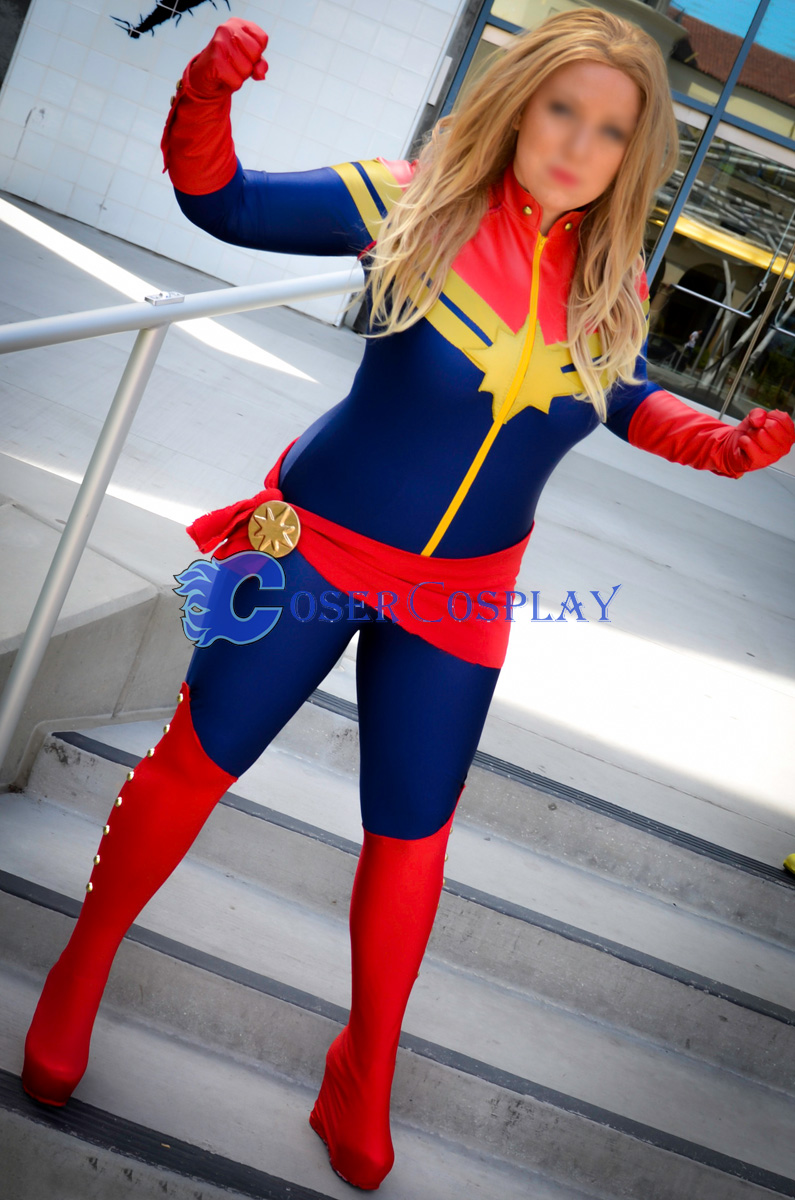 Ms Marvel Carol Danvers Sexy Halloween Costumes