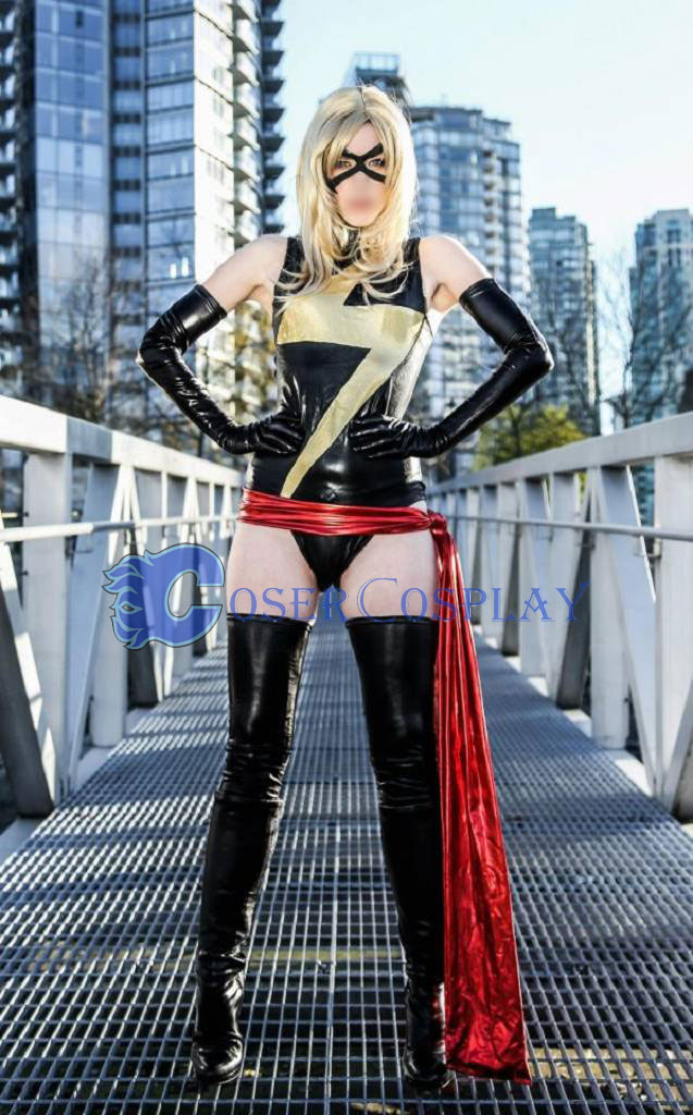 Ms Marvel Carol Danvers Sexy Superhero Costumes