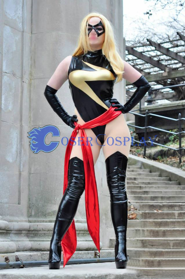 Ms Marvel Carol Danvers Superhero Halloween Costumes